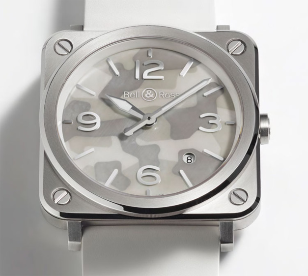 Bell & Ross BRS Grey Camouflage