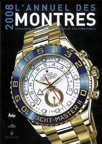 Annuel des montres 2008