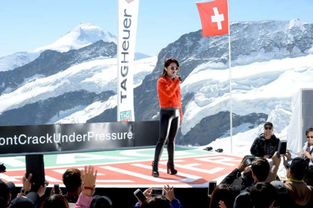 TAG Heuer : let's rock on the top of Europe !