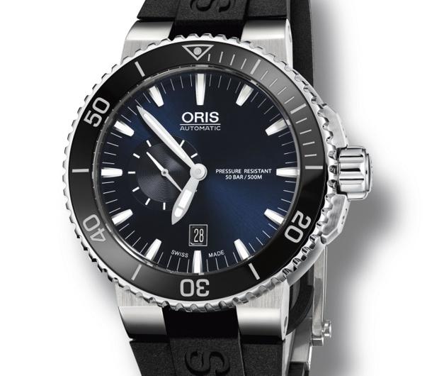 Oris Aquis Small Second Date