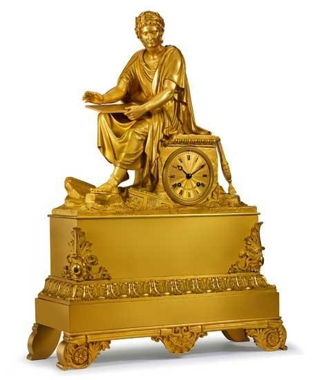 Horloge Louis Moinet représentant l'empereur Néron