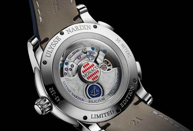Ulysse Nardin Dual Time Manufacture - Monaco : 100 exemplaires