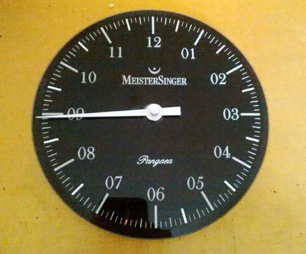 MeisterSinger : l'horloge