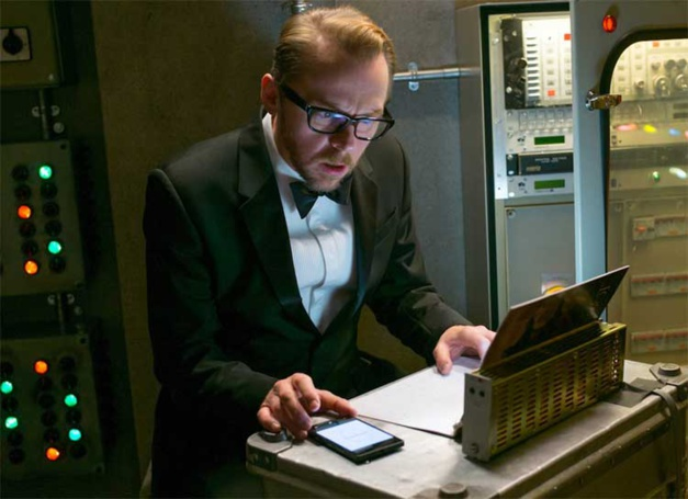 Mission Impossible The Rogue, Simon Pegg, DR