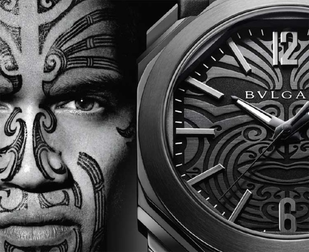 Bulgari Octo All Blacks 100 Club : montre full black