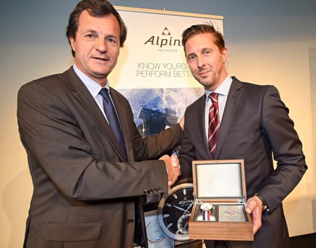 Alpina : montre officielle de la Fédération Française de Ski