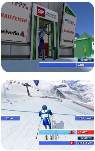 Longines vous offre un jeu vidéo de ski de descente et vous permet de gagner des montres