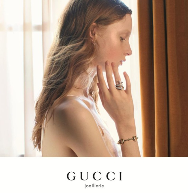 Gucci : nouvelle campagne montres et joaillerie