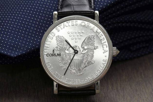 Corum Coin : le temps c'est de l'argent !