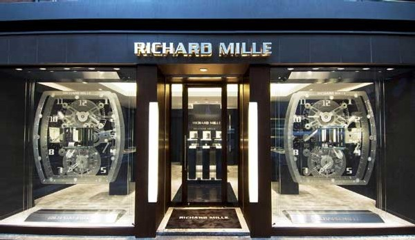 Boutique Richard Mille à Ginza au Japon