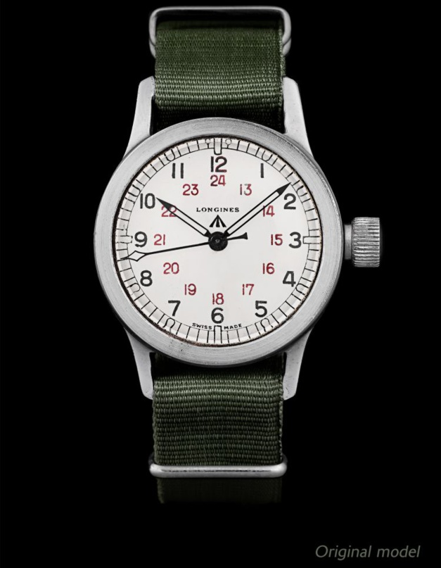 The Longines Heritage Military COSD : montre martiale