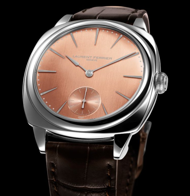 Galet Square Laurent Ferrier acier