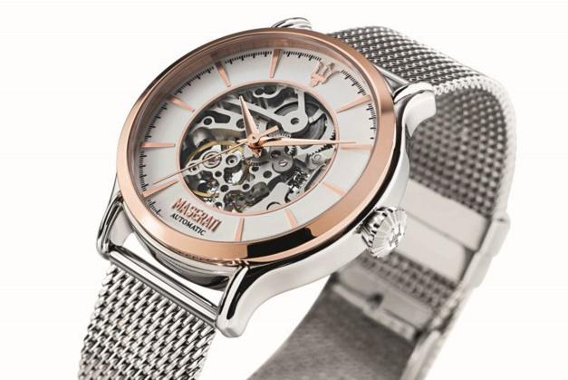 Maserati Epoca : une montre squelette automatique à moins de 400 euros