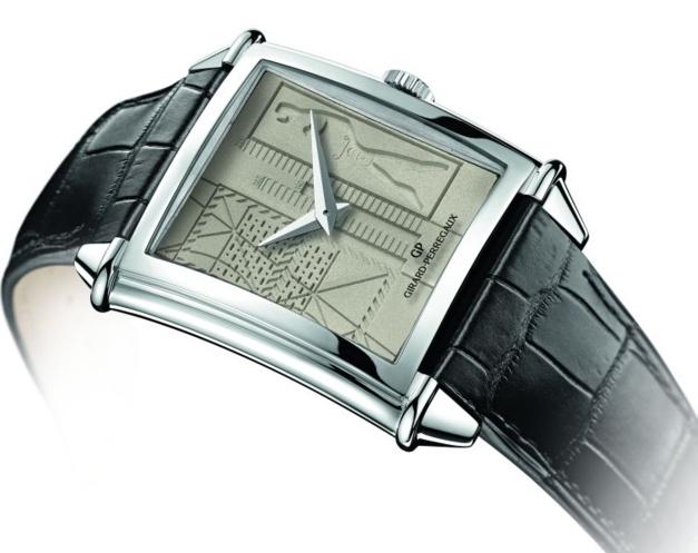 Girard-Perregaux Vintage 1945 Le Corbusier : une montre béton !