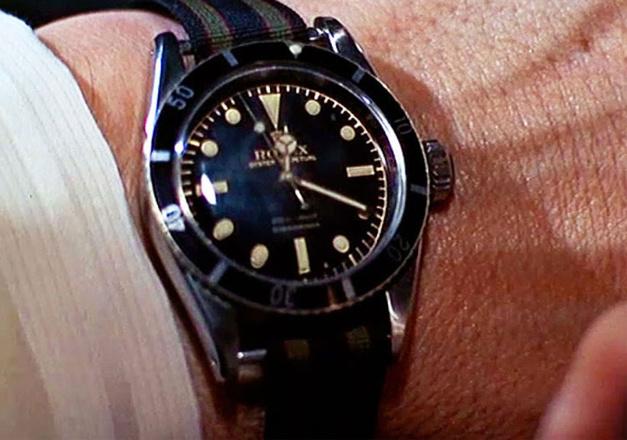 Rolex 6538 dans Goldfinger