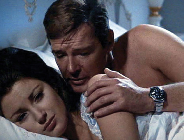 Roger Moore, James Bond et sa Submariner