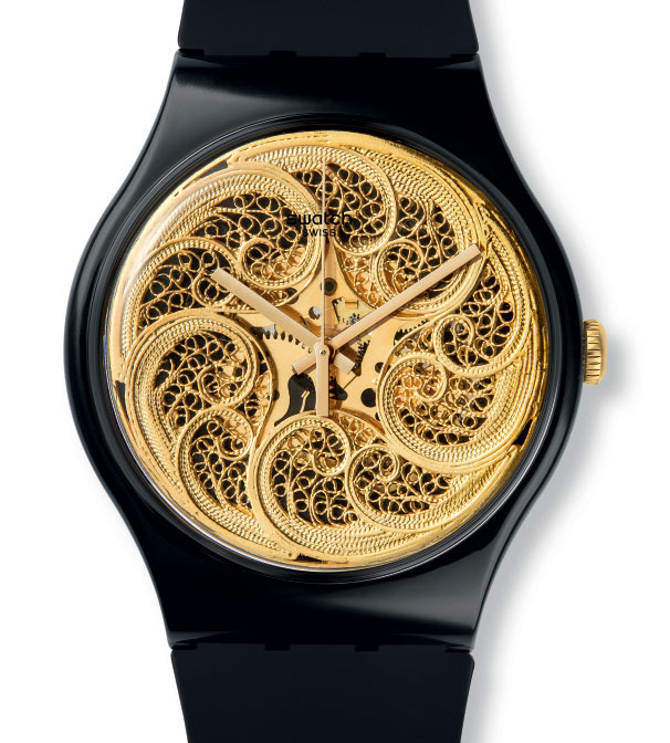 Swatch Lookseasy de Joana Vasconcelos : la première Swatch faite main
