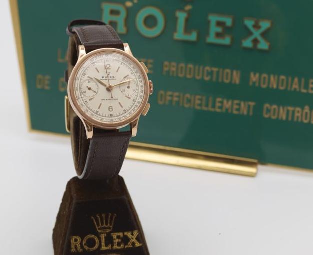 """Cornette de Saint-Cyr : belle vente de montres """"new old stock"""""""