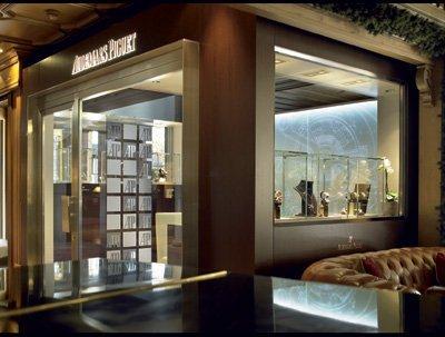 Boutique Audemars Piguet à Gstaad