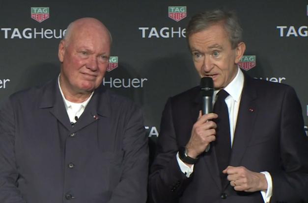 Interview de Jean-Claude Biver : sa vision du futur de TAG Heuer