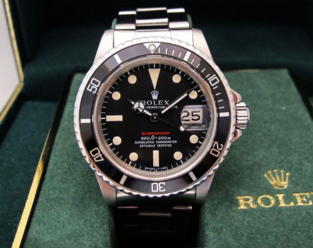 Rolex Submariner Date 1680 Rouge Mark IV