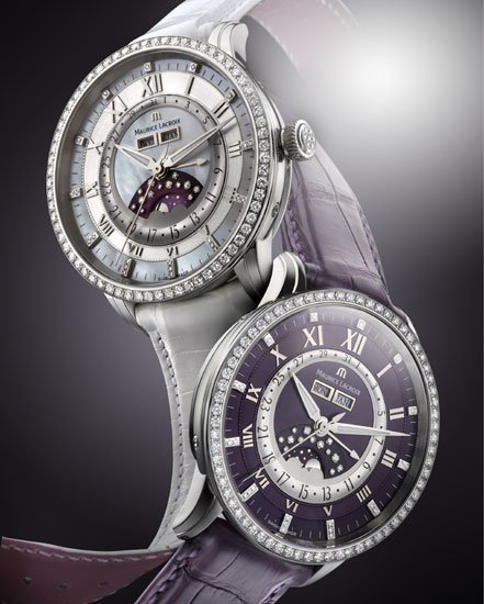 Masterpiece Phase de Lune Diamonds de Maurice Lacroix