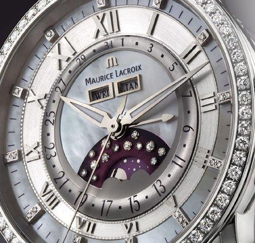 Masterpiece Phase de Lune Diamonds de Maurice Lacroix