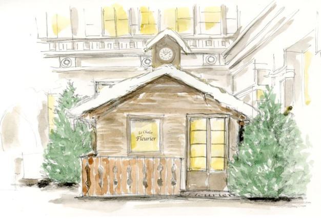 Paris : réouverture du chalet Chopard au Park Hyatt