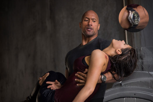 San Andreas : Dwayne Johnson porte une Submersible 1950 Panerai