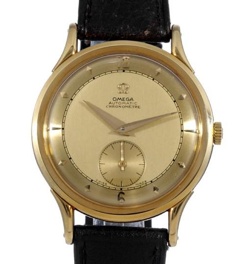 Omega référence 2500 fabriquée en 1944 pour le roi du Danemark Frederik IX