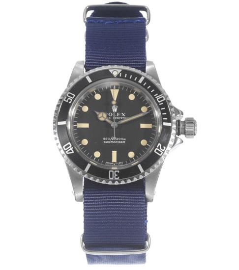 Rolex submariner avec valve à hélium