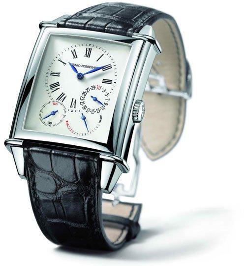 Girard-Perregaux : Vintage 1945 heures et minutes décentrées
