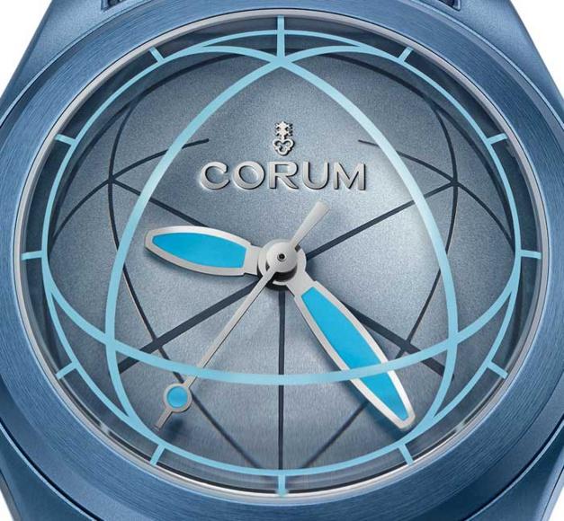 Corum Bubble Op Art : illusion d'optique hypnotique