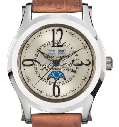 Cuervos y Sobrinos, montre spécialement conçue pour Miguel Bosé