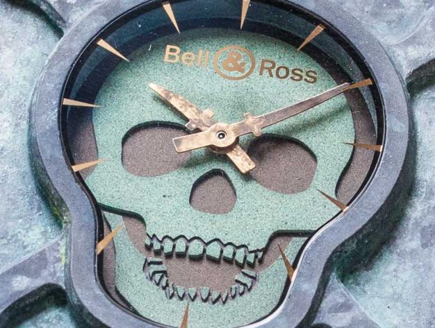 Chronopassion : série limitée BR01 Skull Patine 1120 de 50 exemplaires