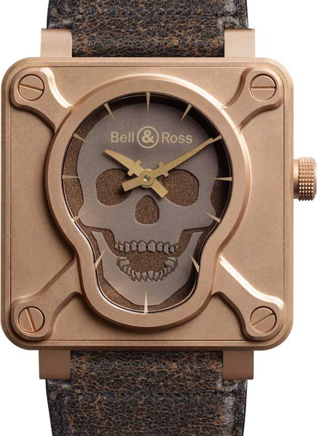 BR01 Skull Bronze