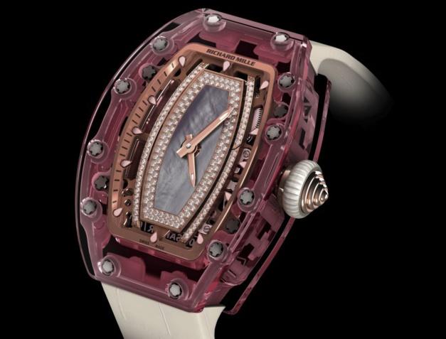 Richard Mille RM 07-02 Pink Lady Saphir