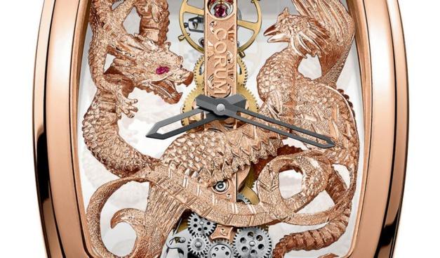 Corum Golden Bridge Dragon & Phoenix