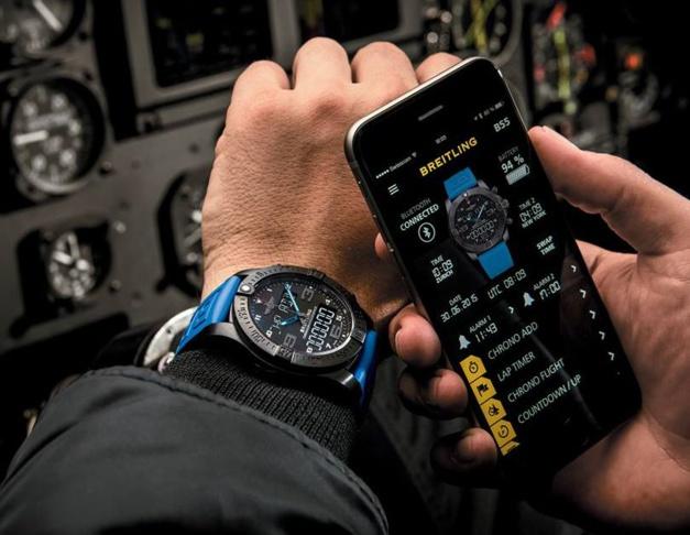 Exospace B55 : la montre connectée selon Breitling