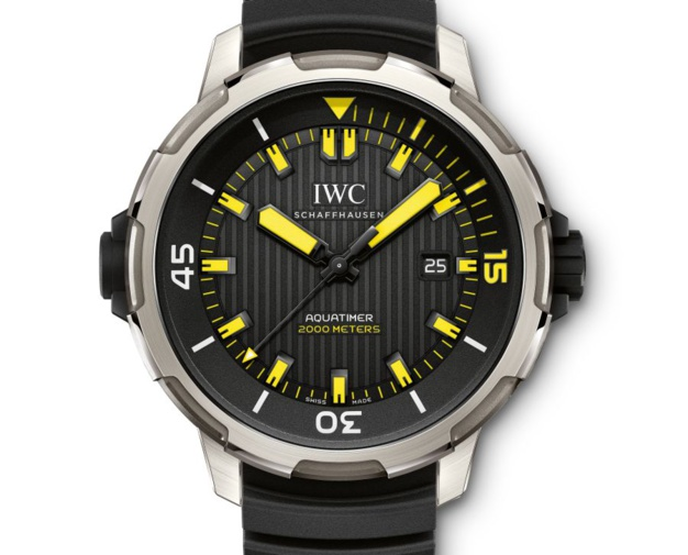 IWC Aquatimer Automatic 2000 : couleurs plongée !