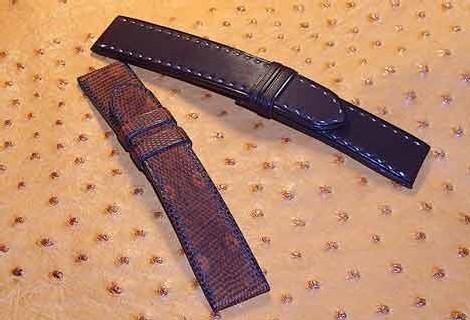 Bracelet-montre : tannages spéciaux par ABP