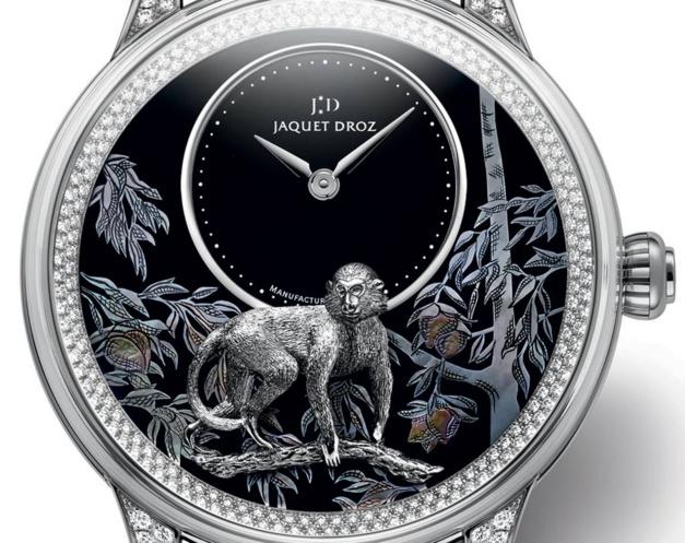 Jaquet Droz : quatre nouveautés pour l'année du singe