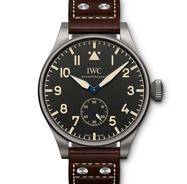 iwc grande montre d 39 aviateur heritage 55 une pilote de collectionneur. Black Bedroom Furniture Sets. Home Design Ideas