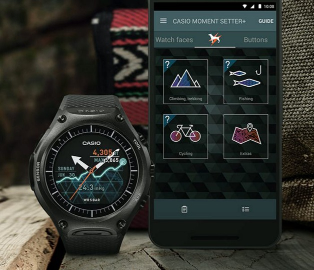 Casio lance une smartwatch Outdoor