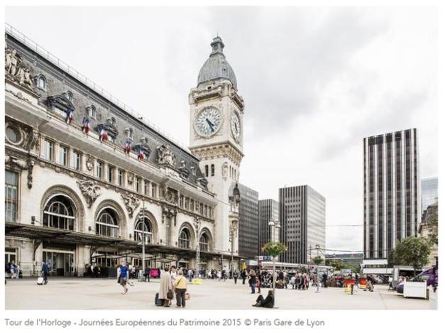 Paris Face Cachée 2016 : visite de la Tour de l'Horloger de la Gare de Lyon