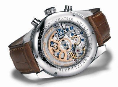 Le Chronographe 120ème anniversaire célèbre en beauté les 120 ans de la maison Eberhard and Co