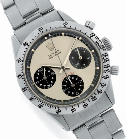 Ref. 6262, Cosmograph Daytona, Paul Newman de 1969 Photo d'après le catalogue Antiquorum