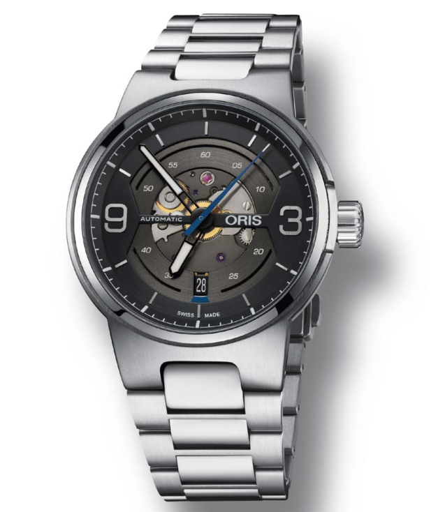 Oris Williams Engine Date : sportive et technique