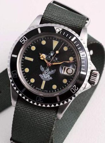 Rolex Submariner 1680 Royaume de Siam Crédit photo Artcurial