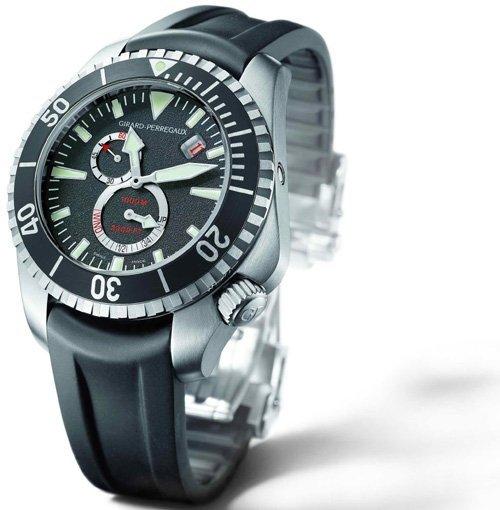 Une Sea Hawk Pro 1.000 mètres Girard-Perregaux répondant à tous les critères de la norme ISO 6425